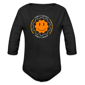 Main Logo Front #1 - Long Sleeve Baby Bodysuit