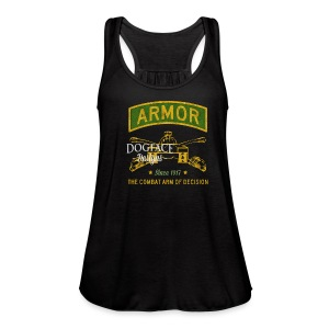 Armor: Combat Arm of Decision - Women's Flowy Tank Top by Bella