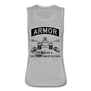 Armor: Combat Arm of Decision - Women's Flowy Muscle Tank by Bella