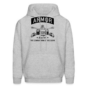 Armor: Combat Arm of Decision - Men's Hoodie