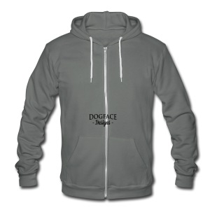 Armor: Combat Arm of Decision - Unisex Fleece Zip Hoodie by American Apparel
