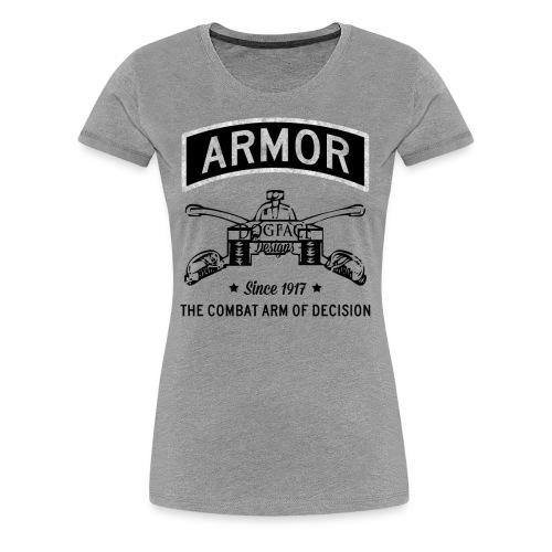 Armor: Combat Arm of Decision - Women's Premium T-Shirt