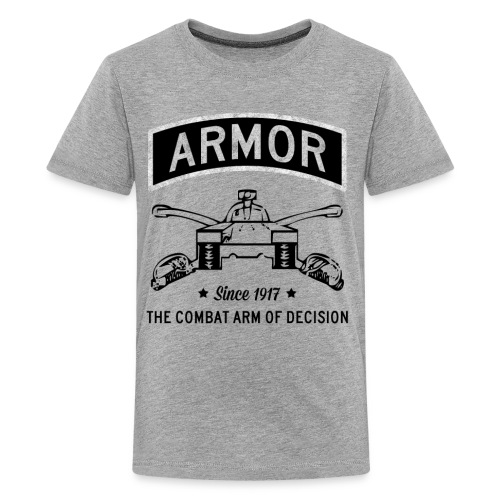 Armor: Combat Arm of Decision - Kids' Premium T-Shirt