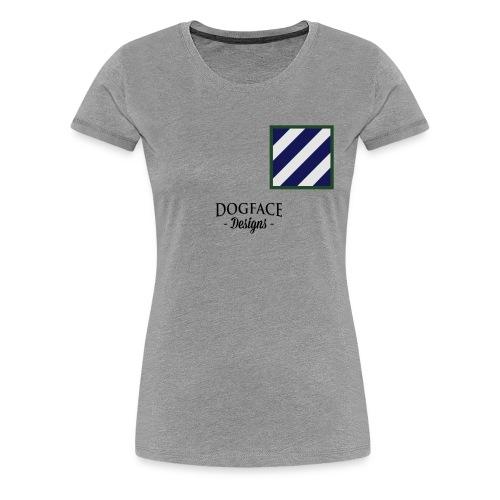 64th Armored Regiment (Back) - Women's Premium T-Shirt