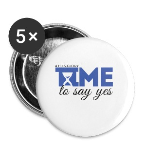 4 H.I.S.Glory's Time to Say Yes Mug - Small Buttons