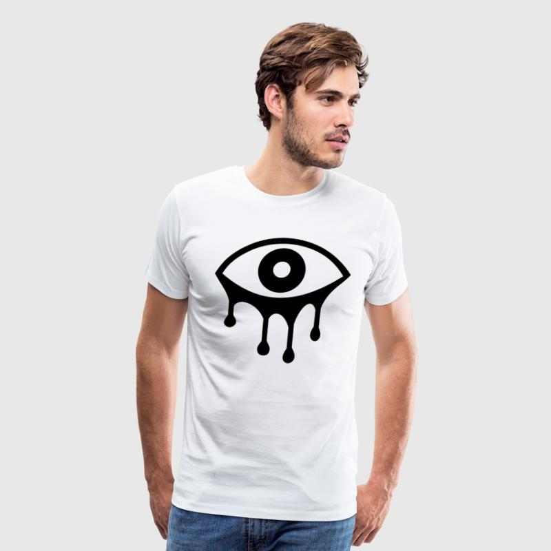 eyes - haunted - Men's Premium T-Shirt