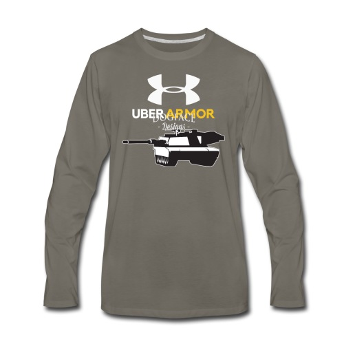 Uber Armor - Men's Premium Long Sleeve T-Shirt