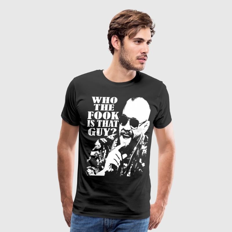 who the fook silhouette - Men's Premium T-Shirt