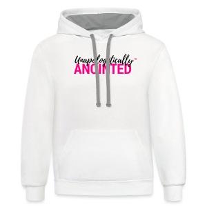Standard Unapologetic T-Shirt - Contrast Hoodie