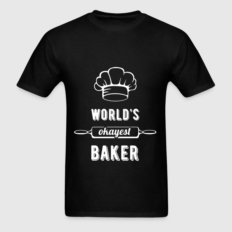 World's okayest baker - Men's T-Shirt
