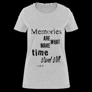Women's Memories Tank Top - Women's T-Shirt