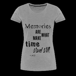Women's Memories Tank Top - Women's Premium T-Shirt