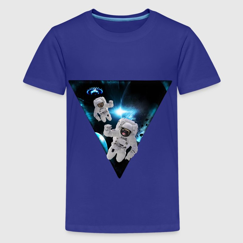 Puppies Lost in Space Kids' Shirts - Kids' Premium T-Shirt
