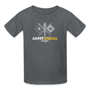 Army: Signal Corps Branch - Kids' T-Shirt