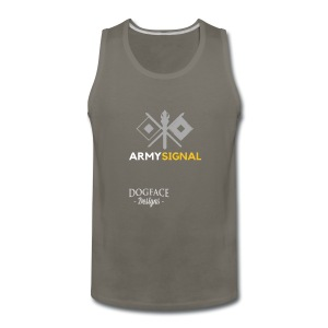 Army: Signal Corps Branch - Men's Premium Tank