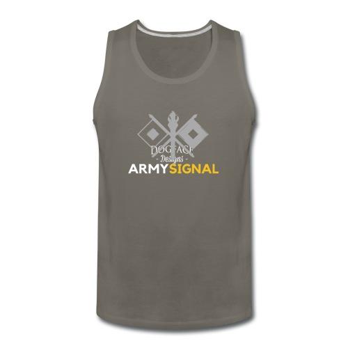 Army: Signal Corps Branch - Men's Premium Tank