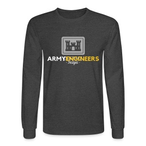 Army: Engineer Branch - Men's Long Sleeve T-Shirt