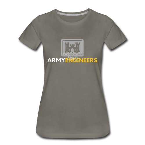 Army: Engineer Branch - Women's Premium T-Shirt
