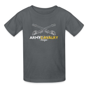 Army: Cavalry Branch - Kids' T-Shirt