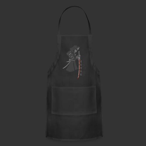 Men's Premium T-Shirt Samurai (Digital Print) - Adjustable Apron