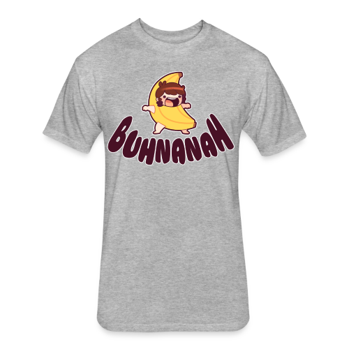 Buhnanah! |Men's| - Fitted Cotton/Poly T-Shirt by Next Level