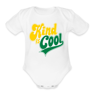 Kind is Cool - Short Sleeve Baby Bodysuit