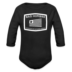Bad Hombres - Long Sleeve Baby Bodysuit