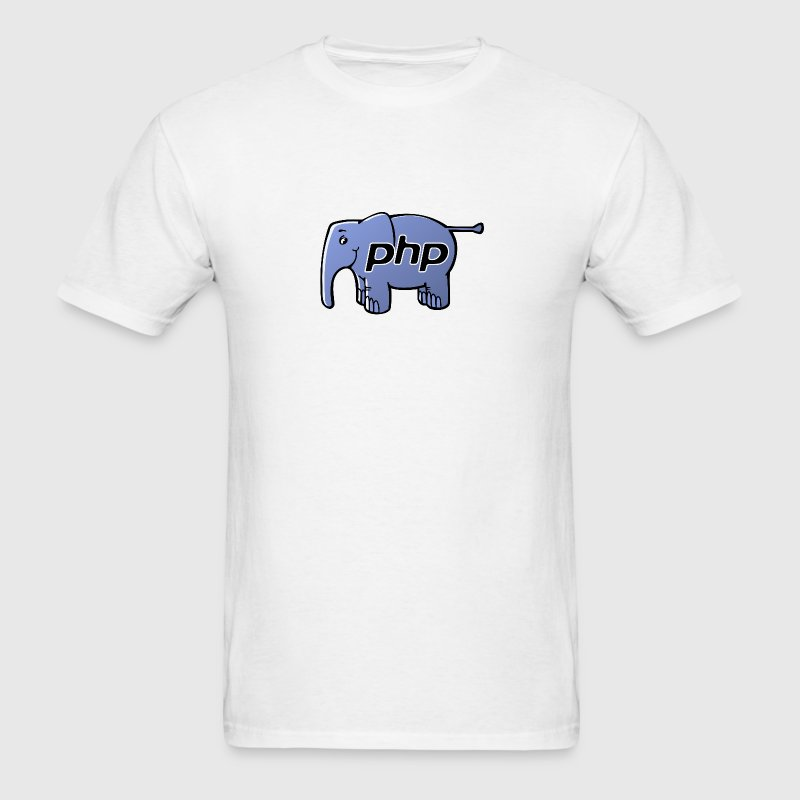 PHP Elephant T-Shirt - Men's T-Shirt