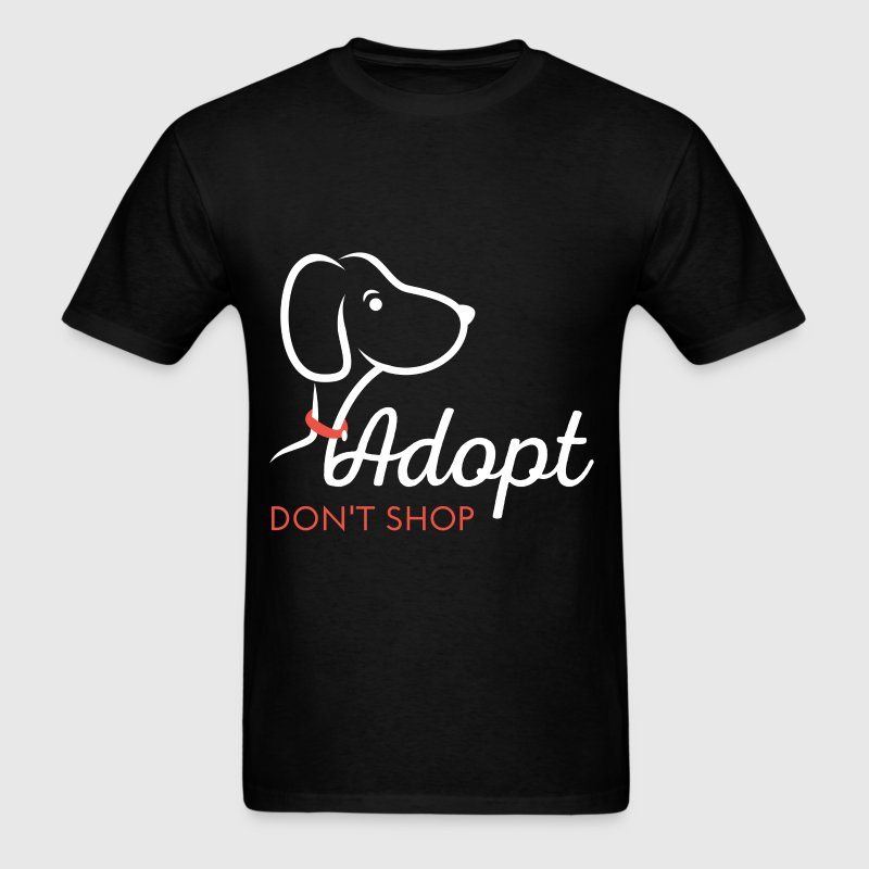 Adopt don't shop - Men's T-Shirt