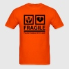 FRAGILE - Please Handle With Care (Sign) T-Shirts - Men's T-Shirt