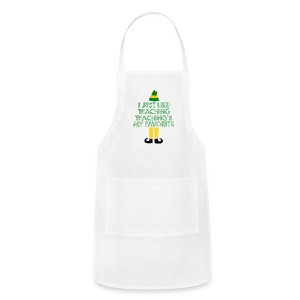 Teaching's My Favorite - Christmas - Adjustable Apron