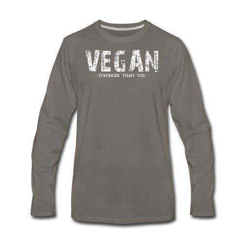 VSTY Vintage Tee - Men's Premium Long Sleeve T-Shirt