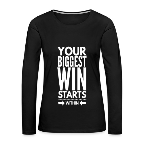 Winning Within - Women's Premium Long Sleeve T-Shirt
