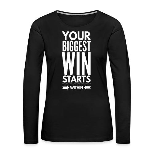 Winning Within - Women's Premium Long Sleeve T-Shirt