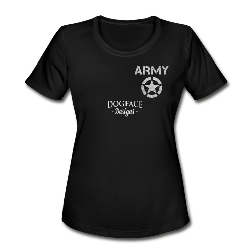 Old Army/Veteran (Infantry) - Women's Moisture Wicking Performance T-Shirt