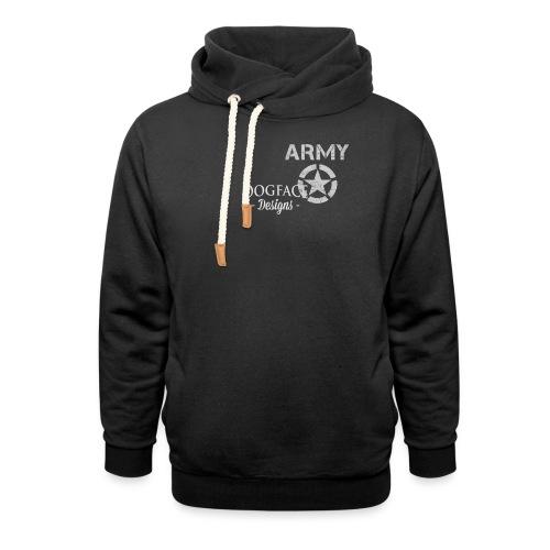 Old Army/Veteran (Infantry) - Shawl Collar Hoodie