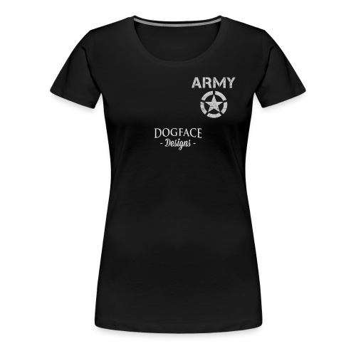 Old Army/Veteran (Armor) - Women's Premium T-Shirt