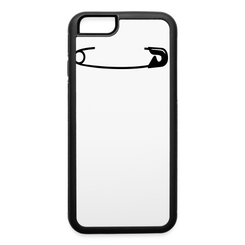 Safety Pin - iPhone 6/6s Rubber Case