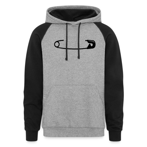 Safety Pin - Colorblock Hoodie