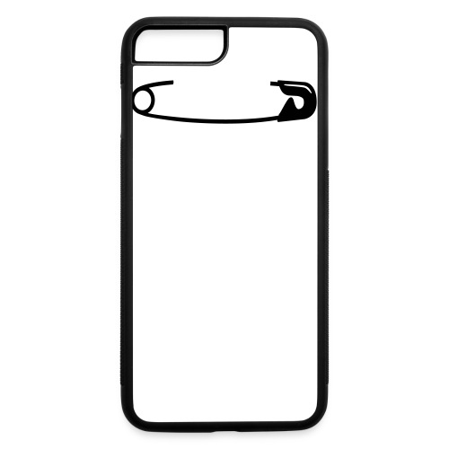 Safety Pin - iPhone 7 Plus/8 Plus Rubber Case