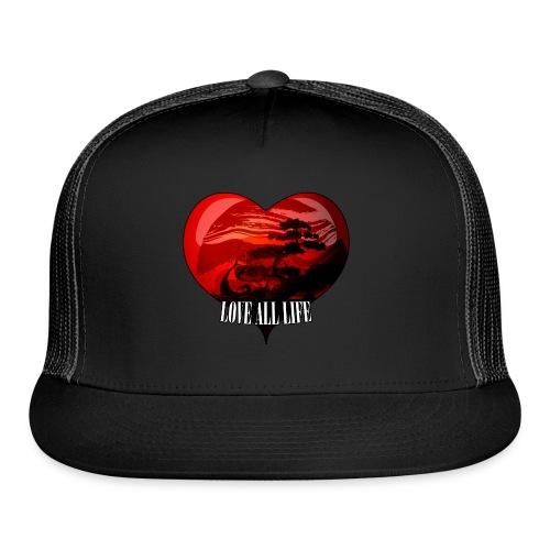 Love All Life Vintage Tee - Trucker Cap