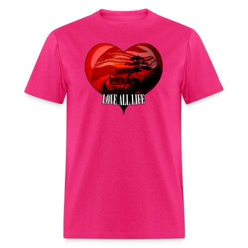 Love All Life Vintage Tee - Men's T-Shirt
