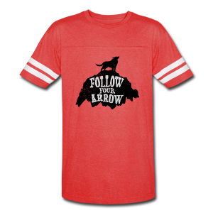 Follow Your Arrow - Vintage Sport T-Shirt