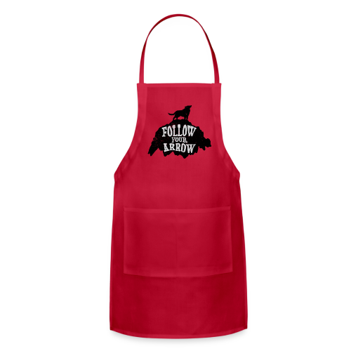 Follow Your Arrow - Adjustable Apron