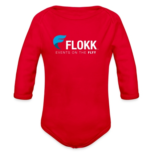 Ladies Flokk Logo T-Shirt - Organic Long Sleeve Baby Bodysuit