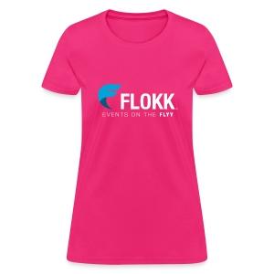Ladies Flokk Logo T-Shirt - Women's T-Shirt