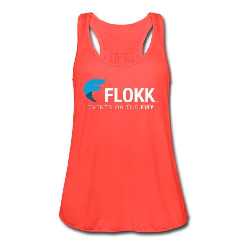 Ladies Flokk Logo T-Shirt - Women's Flowy Tank Top by Bella