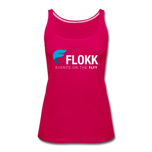 Ladies Flokk Logo T-Shirt - Women's Premium Tank Top