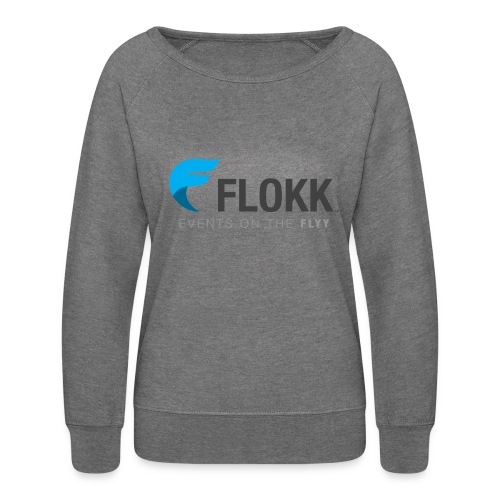 Ladies Flokk Logo T-Shirt - Women's Crewneck Sweatshirt