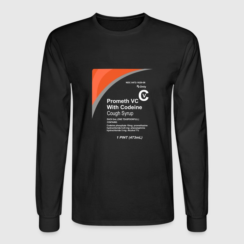 Cough Syrup - Men's Long Sleeve T-Shirt